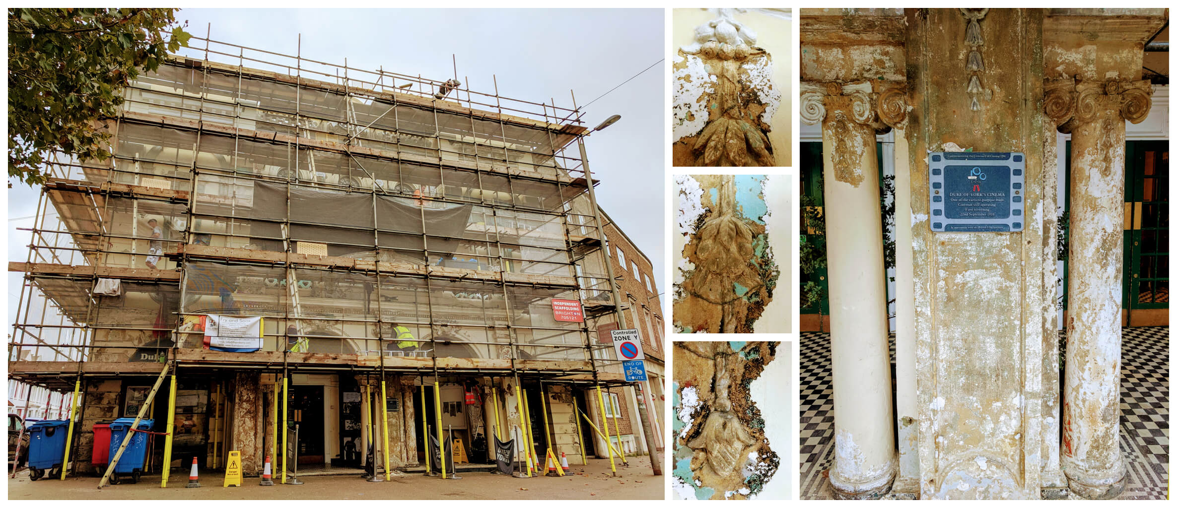 Duke of Yorks restoration process