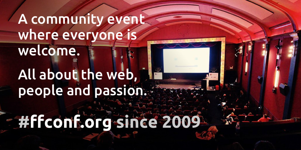 ffconf - Web development & JavaScript conference in Brighton, UK